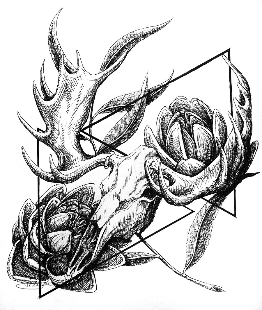 Moose Head Printable Art Print Moose Print Animal Par Homeposter I Like The Antlers On This One Moose Tattoo Animal Tattoos Antler Tattoos