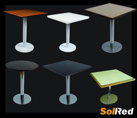 tipos de mesas de bar
