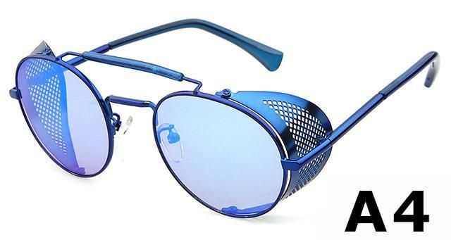 a1b4070a23 Ade Wu High Quality Metal Frame Steampunk Sunglasses for Him or Her. A  Fashion statement that looks great for any occasion and available in 6  colors.