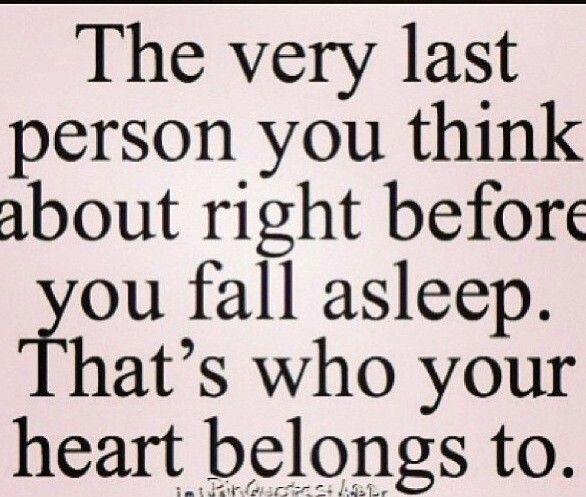 Every Night I Fall Asleep Thinking Of You Everyday I Wake Up Thinking Of You Good Night Love Quotes Night Love Quotes Cute Boyfriend Quotes