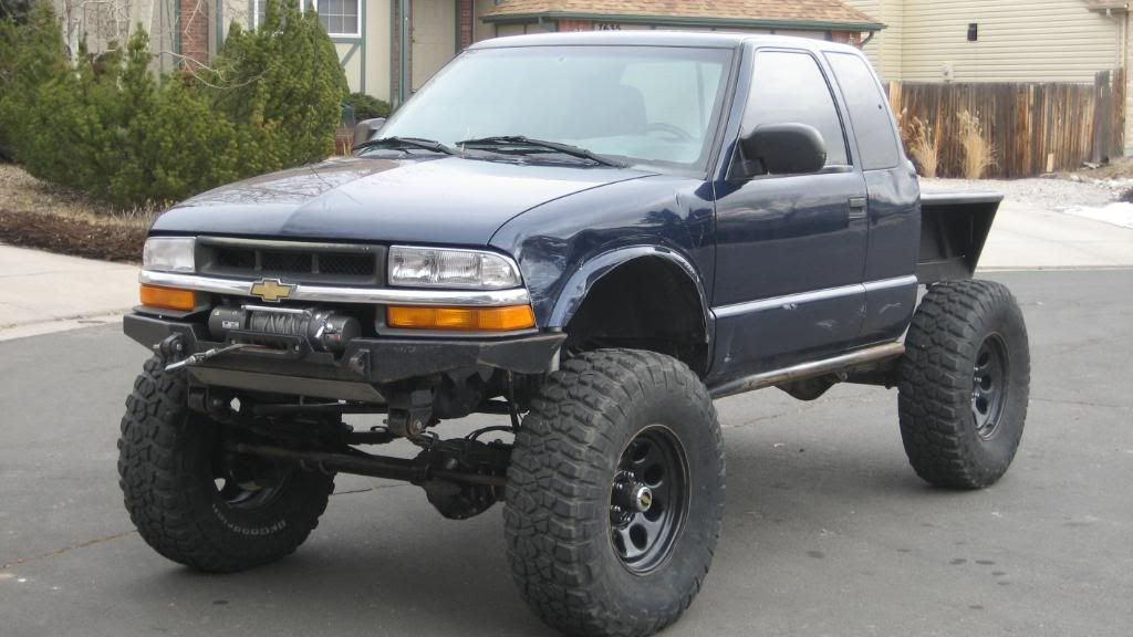 2000 Chevy S 10 Zr2 Sas 37 S D44 S Expedition Portal Chevy