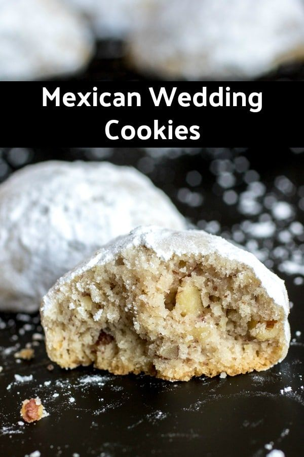 These are the BEST Mexican Wedding Cookies  This is an authentic Mexican Wedding Cookies recipe that is a classic Christmas cookie recipe Make these cookies for a Christm...