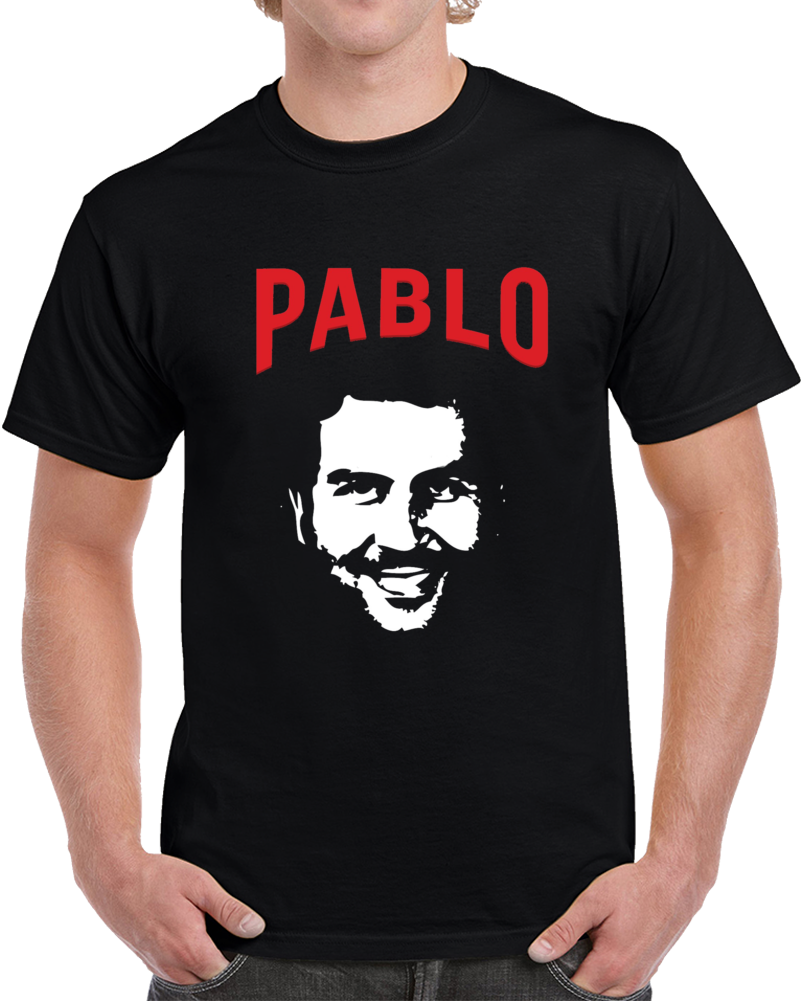 7aab6abca Pablo Escobar Cool Silhouette Narcos Drug Lord Colombian Gangster T Shirt   colombia obar gangster tshirt cocaine narcos colombia