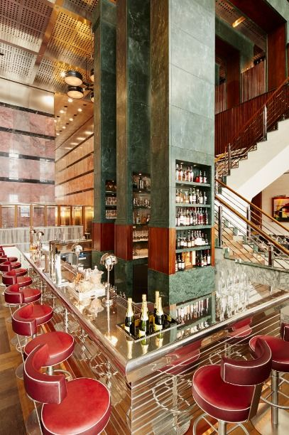One Canada Square, London designed by David Collins, #great #bar ...