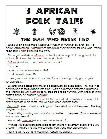 Lucrative image with printable folktales