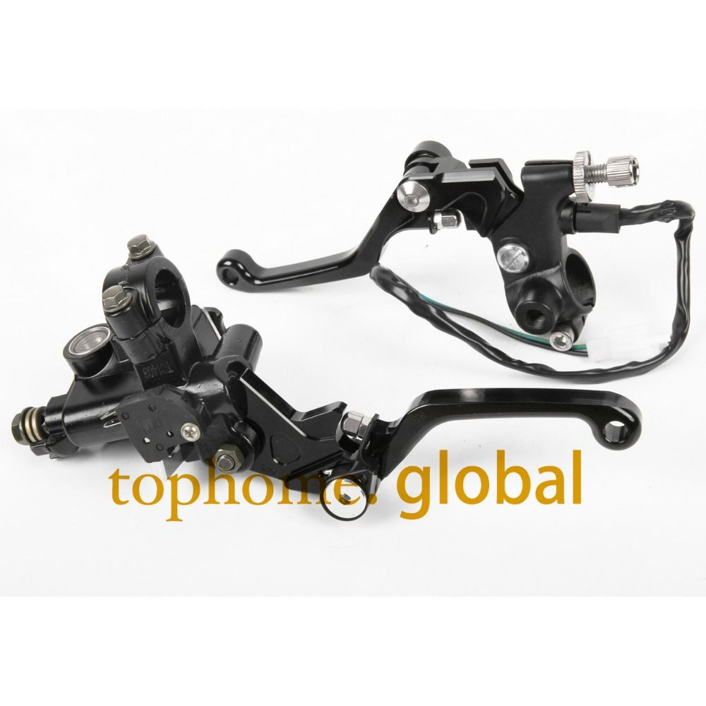 For Honda Brake Lever Right Side w// Cable Operated Brake 7//8 Handlebar Dirt Bike