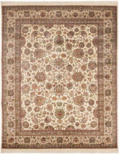 Safavieh Royal Kerman Collection Rk10a Hand Knotted Ivory Wool Area Runner 2 Feet 6 Inch By 12 Feet By Safavieh Red Wool Area Rug Wool Area Rugs Colorful Rugs