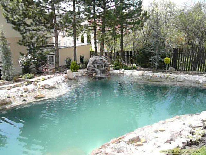 Pool Mit Wasserfall grumer gartengestaltung photo gallery naturpool schwimmteich