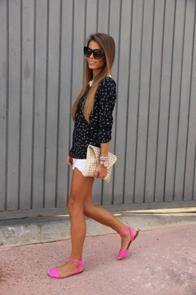Stepping Out Styling in Sandals! | Fashion, Neon shoes, Style
