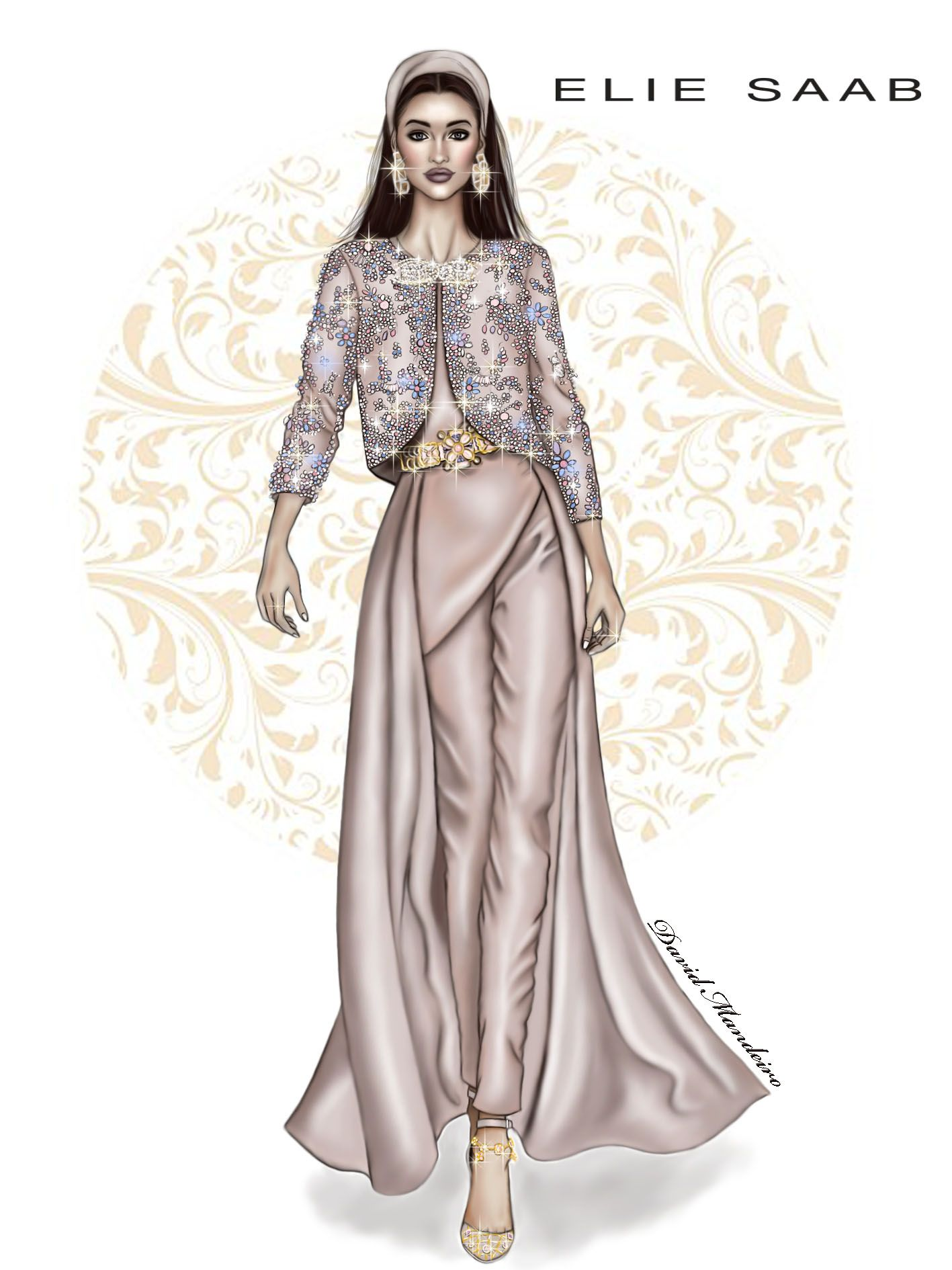 Elie Saab Haute Couture! By David Mandeiro