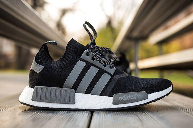 Contratista aplausos Plausible  ADIDAS NMD RUNNER PK (BLACK/GREY) - Sneaker Freaker | Adidas nmd runner,  Nike shoes women, Adidas nmd black