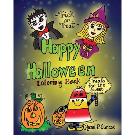 Happy Halloween Coloring Book Walmart and Products