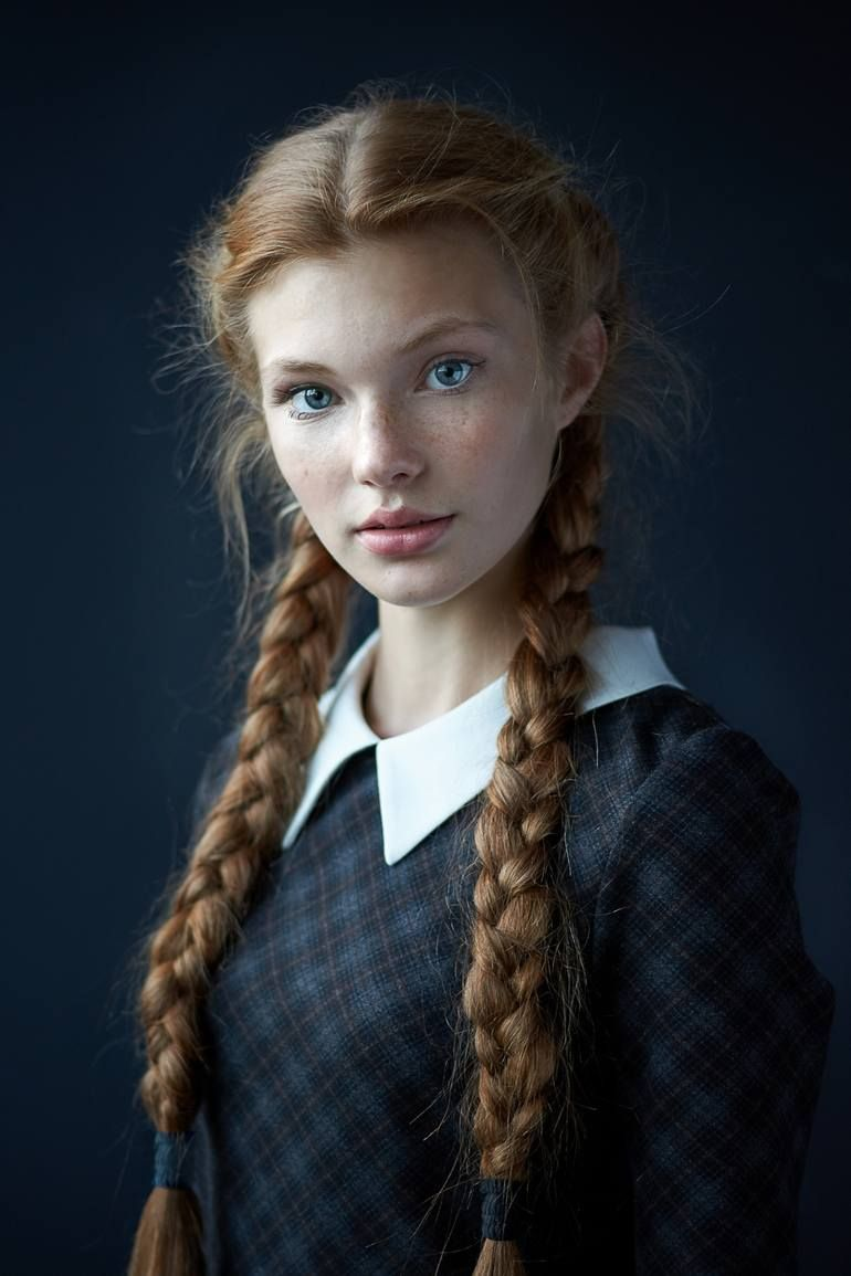 Original Portrait Photography by Vinogradov Alexander | Fine Art Art on Paper | Redhead girl - Limited Edition 1 of 1