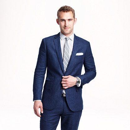 J.Crew - Ludlow suit jacket in délavé Italian linen Good option ...