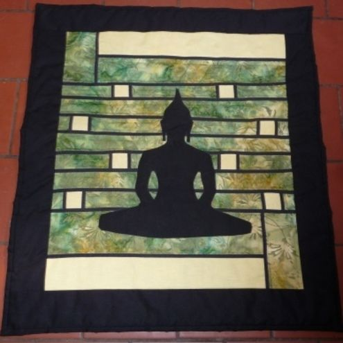 Zen Buddha Wallhanging