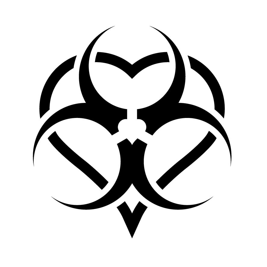 Toxic Logo Tattoo Real Clipart And Vector Graphics