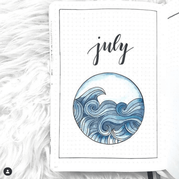 100+ Bullet Journal Theme Ideas by Month #journaling