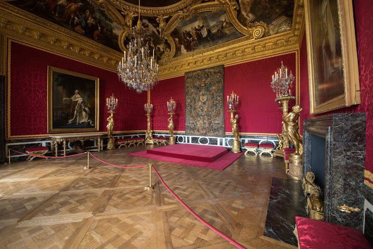 Le salon d apollon dans le grand appartement du roi for Salon de versailles