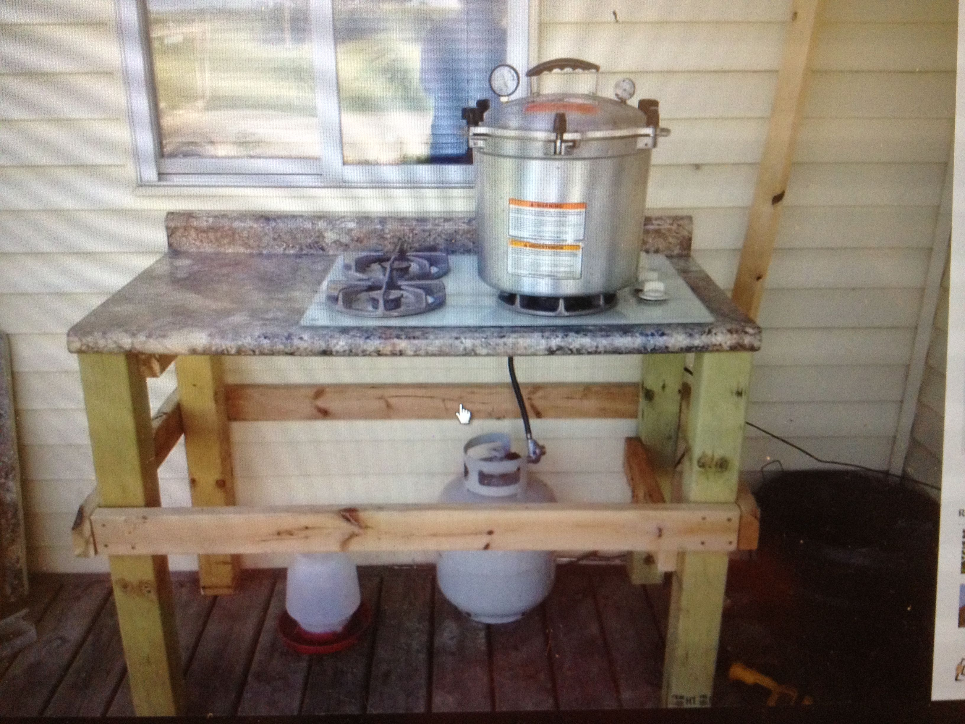 canning stove outdoor canning stove what a neat idea project