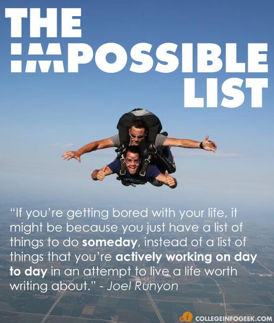 My Impossible List