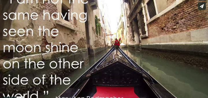 I hope this video will make you want to travel. Made from video footage and photos from SUNY Cortland students, this short vide will make you want to study abroad for the first time, or again for that matter.
