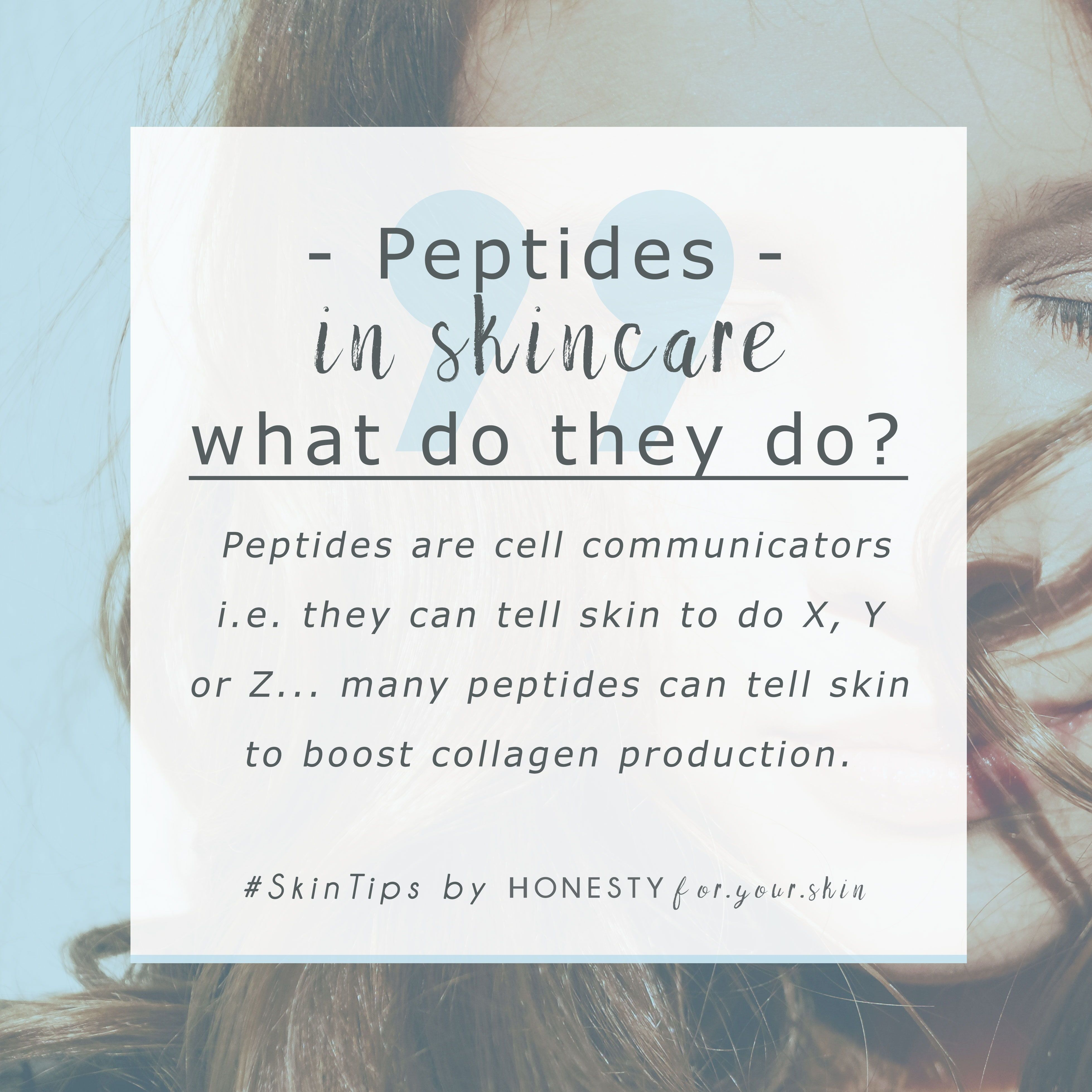 Peptides What Do They Do Who Are They Will They Help Your Skin Peptides Are Fab Skincare Actives Because They Re Skin Simila In 2020 Skin Care Skin Anti Aging Oils