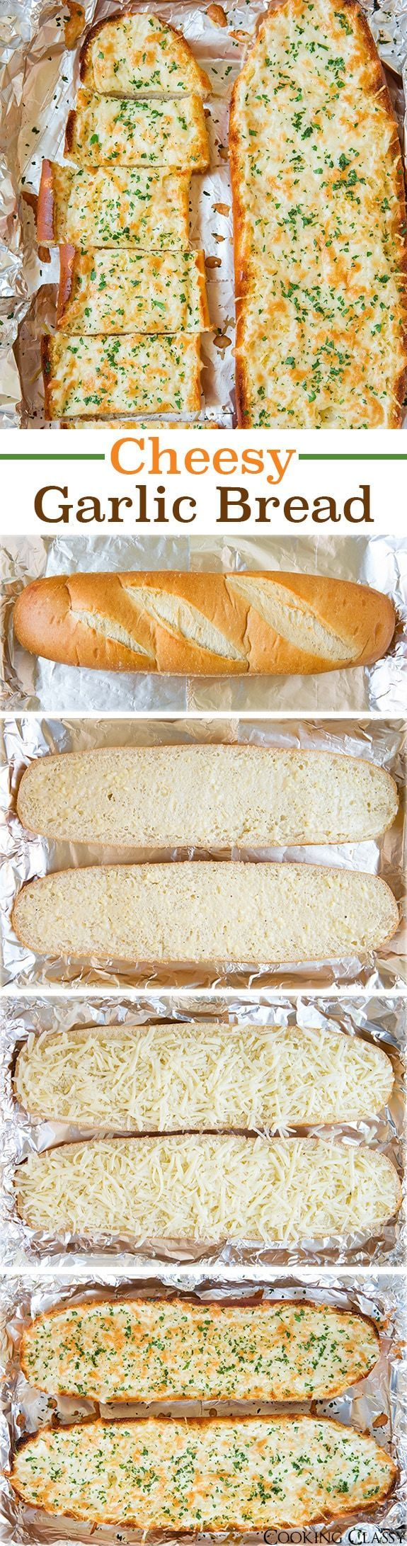 Garlic Breadcomes together in under 30 minutes and my family goes crazy for it! Serve alongside pasta, soup or salad as an easy, delicious side dish.#garlicbread
