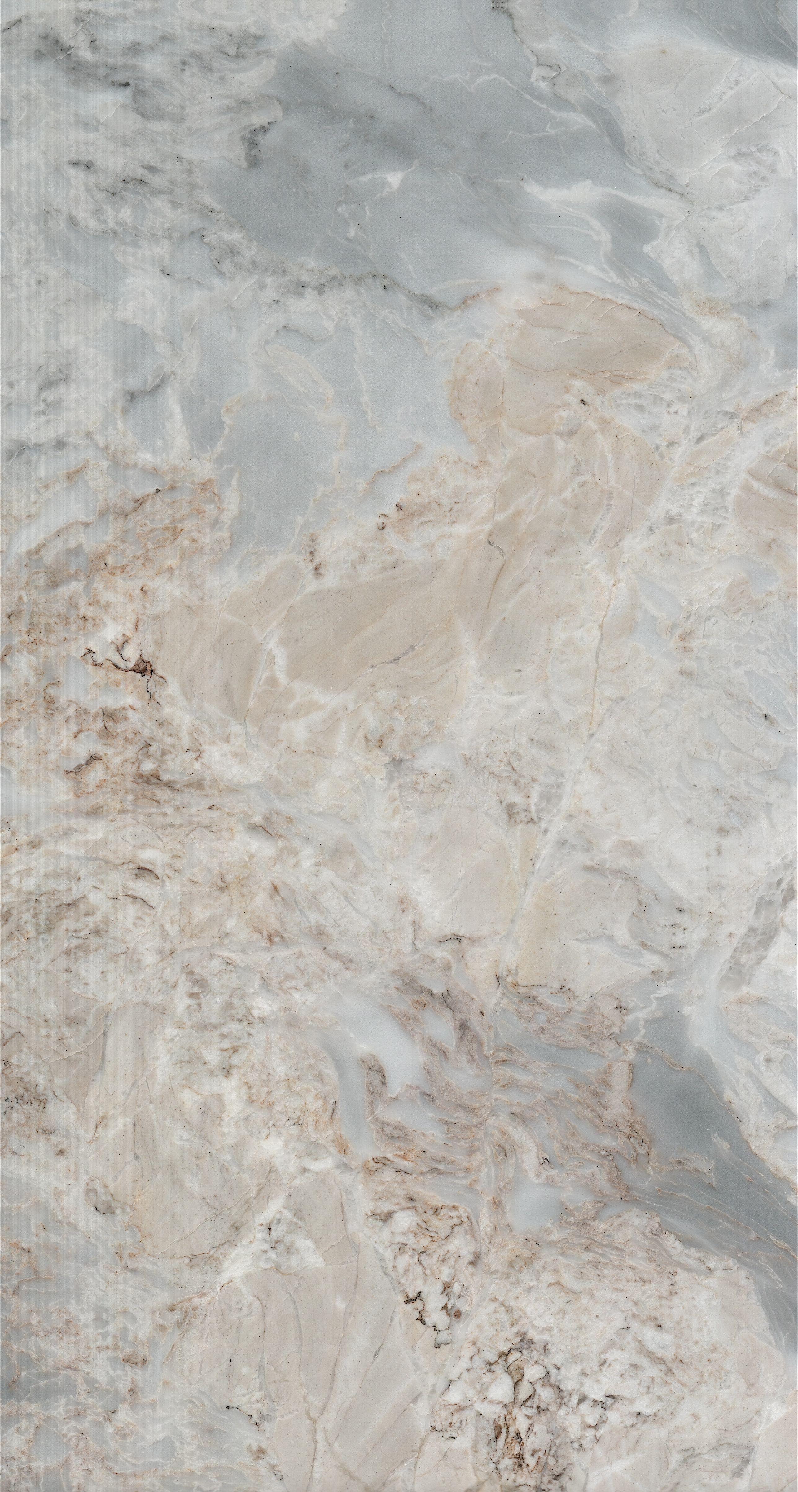 星田大理石彩云金辉 Granite Wallpaper Grey Removable Wallpaper