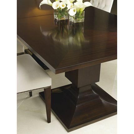 Baker Furniture Block Dining Table 7891 Thomas Pheasant Browse Products