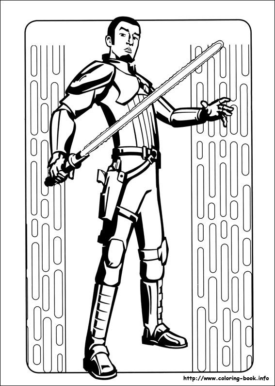 Star Wars Rebels coloring picture Coloring for kid。 Pinterest - new new star wars coloring pages