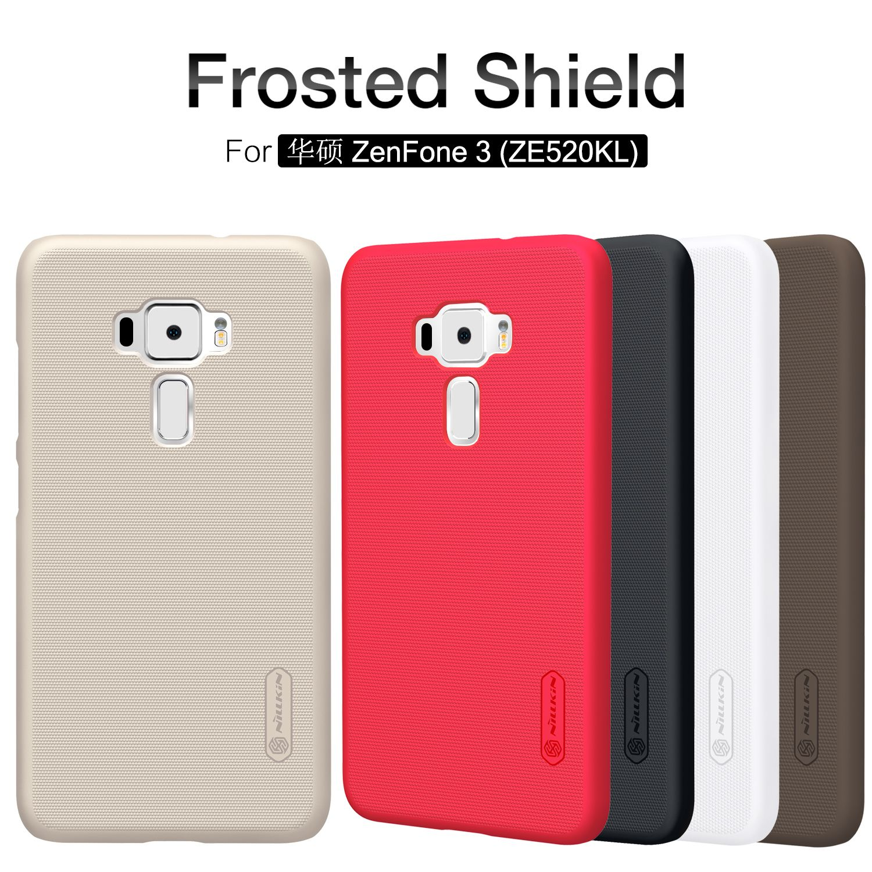 Original Nillkin Frosted Case For Asus Zenfone 3 Ze520kl 52 Inch Hard Xiaomi Mi4i Mi4c Plastic Back