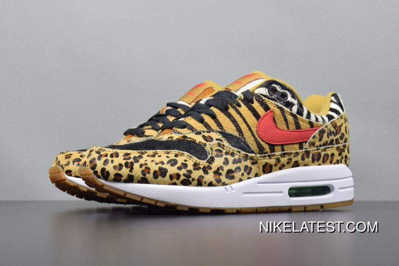 new arrivals f0f46 f9a13 NIKE AIR MAX 1 ATMOS ANIMAL Leopard PACK Men Shoes AQ0928-700 Authentic New  Style