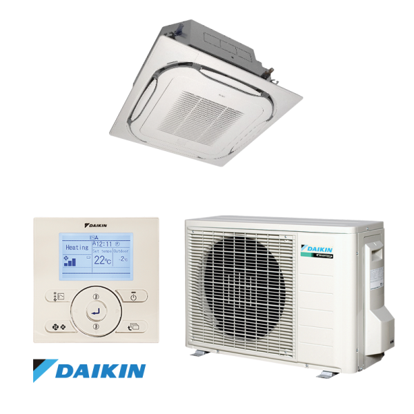 Cassette Air conditioner Daikin FCQG35F / RXS35L3 1
