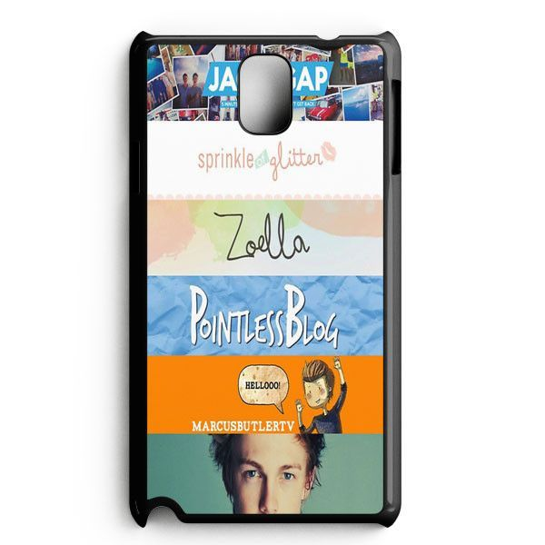 Quotes The Youtubers 2 Samsung Galaxy Note 3 Case