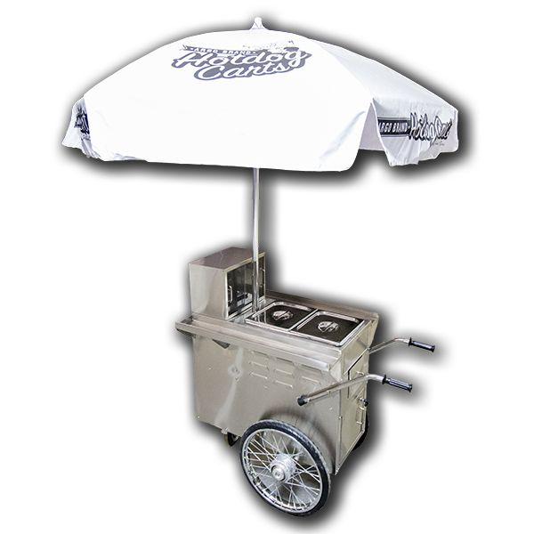 Hot dog cart #largeumbrella