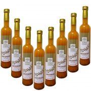 8 Fl. Sanddornlikör mit Rum 0,5 l Sanddorn Likoer 17% vol.