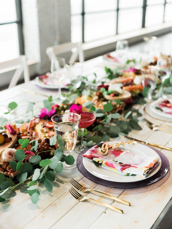 Cool Vibrant Fuchsia And Pink Modern Tampa Bay Wedding Home Interior And Landscaping Mentranervesignezvosmurscom