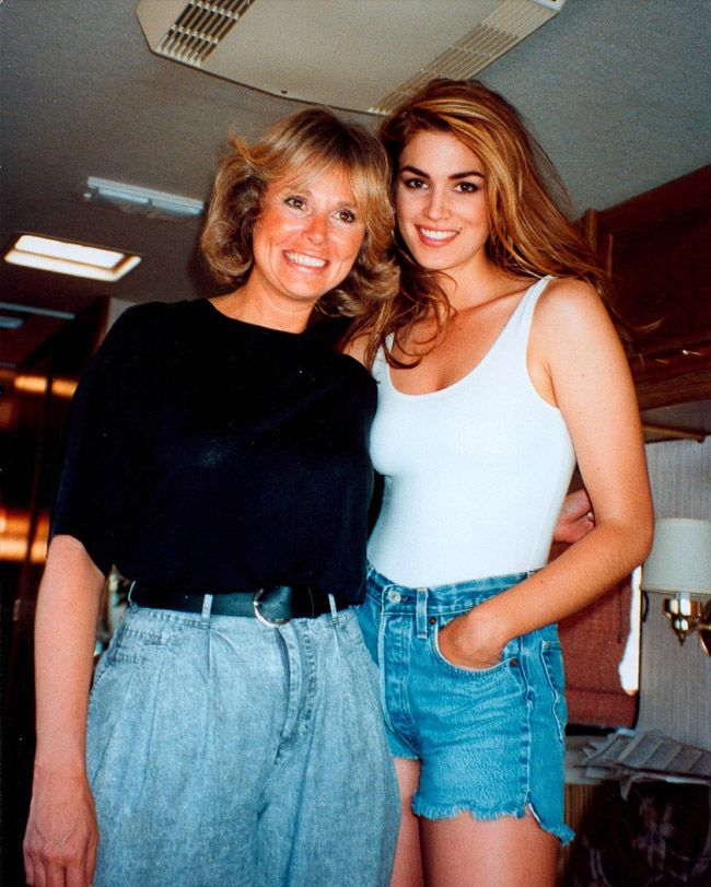 Cindy Crawford During A Pepsi Commercial 1992 I Loved -9462