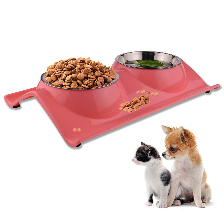 Love S Dog Bowls Pet Food Bowl Raised Cat Puppy Bowls No Spill