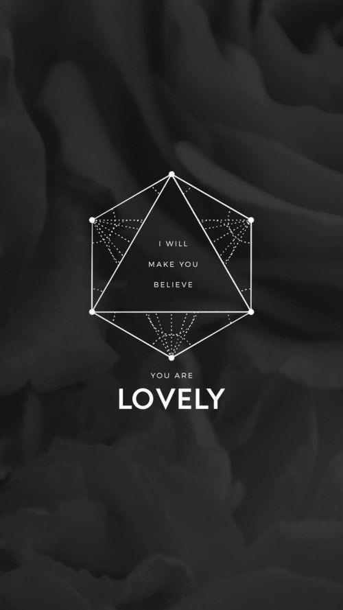 """Lovely Lyrics Twenty One Pilots lovely"""" lyrics twenty one pilots lockscreen   lockscreens"""