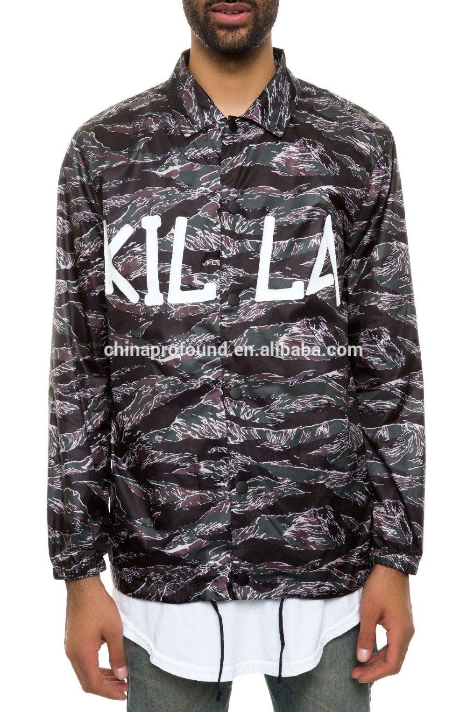 Fashion camo fleece digital printed jacket for men view camo jacket