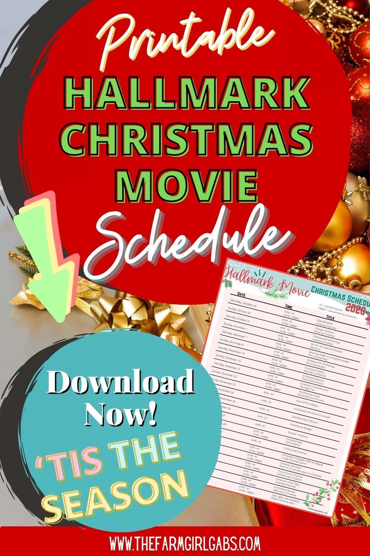 Hallmark Christmas Movie Schedule In 2020 Hallmark Christmas Movies Hallmark Christmas Hallmark Christmas Movie Schedule