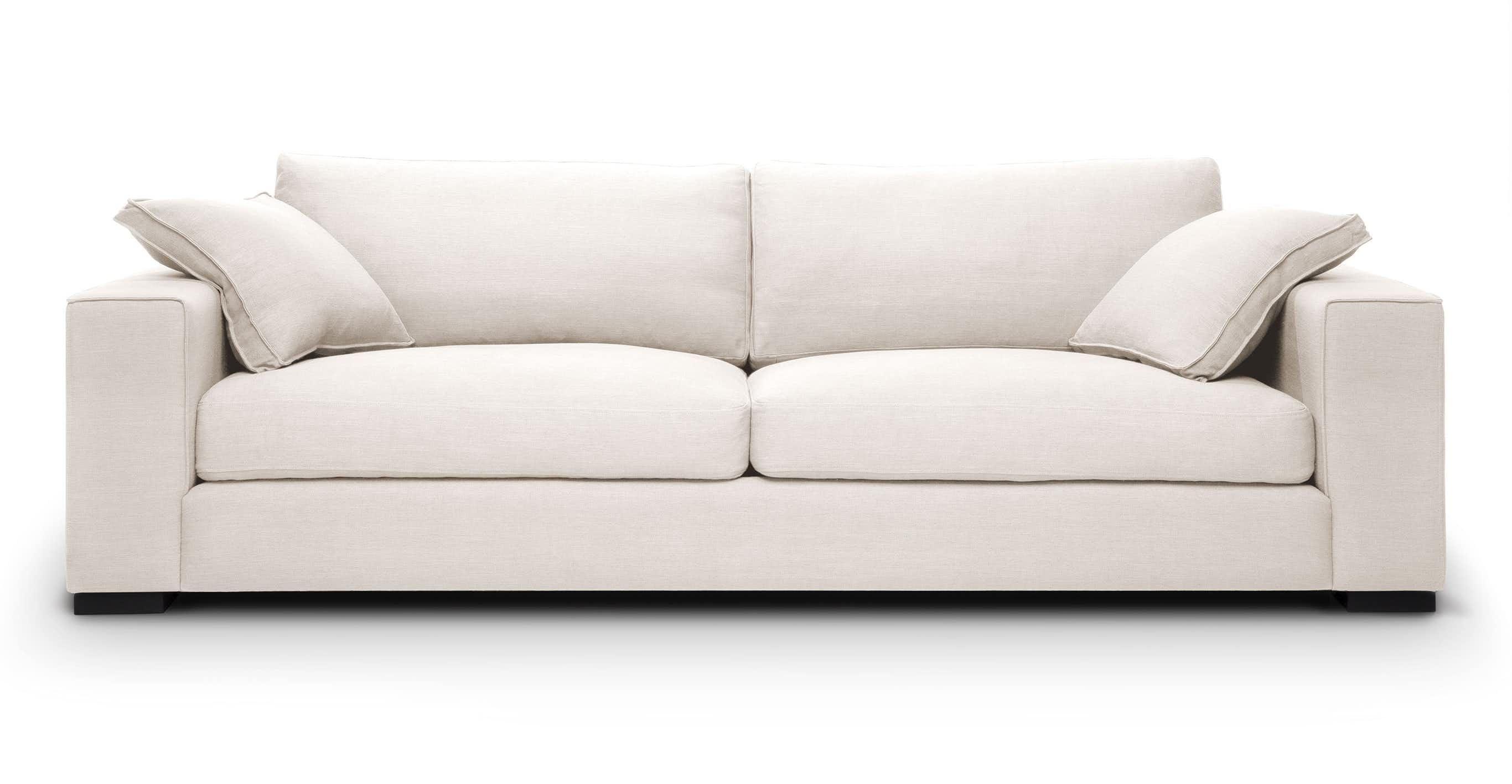 Sitka Quartz White Sofa White Sofas Modern Sofa Contemporary Sofa