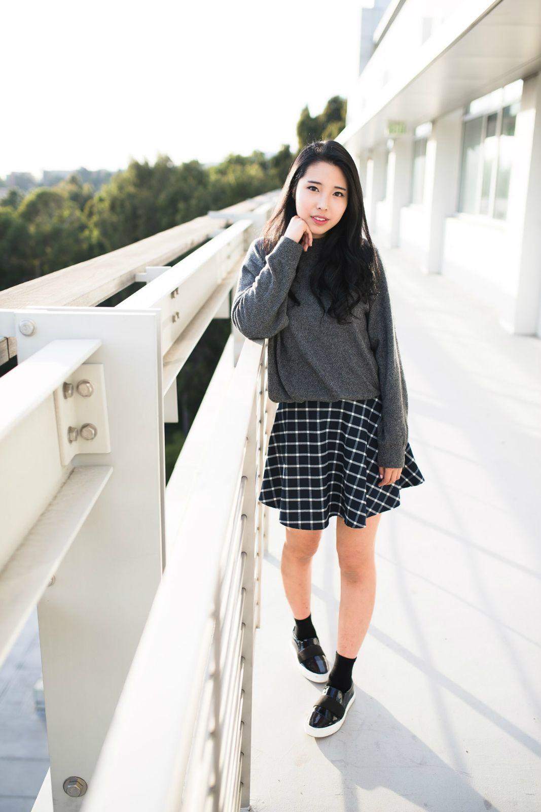 Ally Gong Fashion Fashion Blogger Flogger Asian Korean Chinese Japanese Kpop Iu Cute