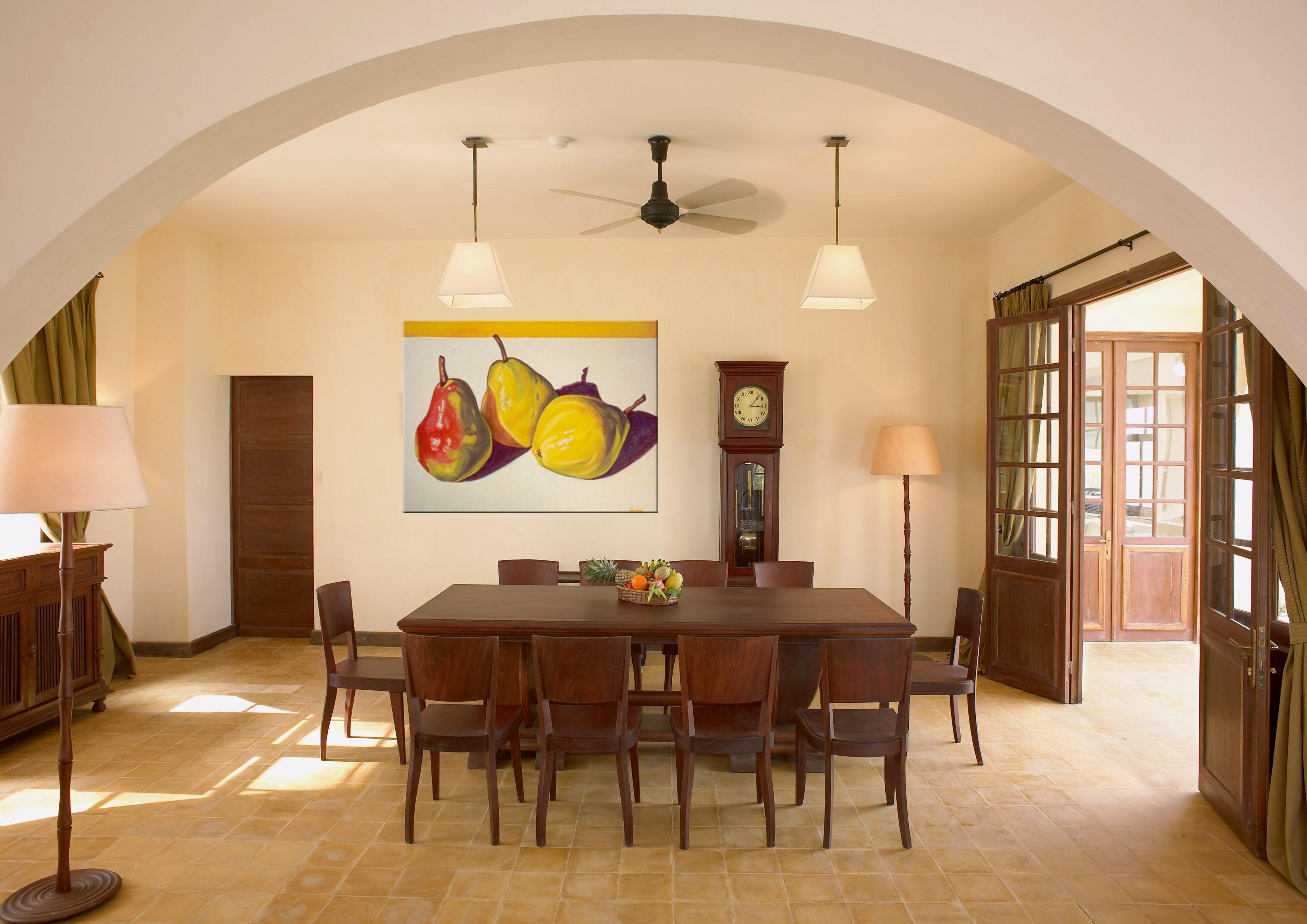 Exelent Modern Dining Room Wall Decor Motif - Wall Art Collections ...