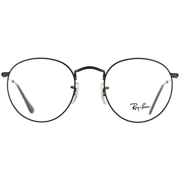 06c94b597c ... norway ray ban unisex rx 3447v 2503 50mm matte black round metal  eyeglasses 106 c1bde 070e7
