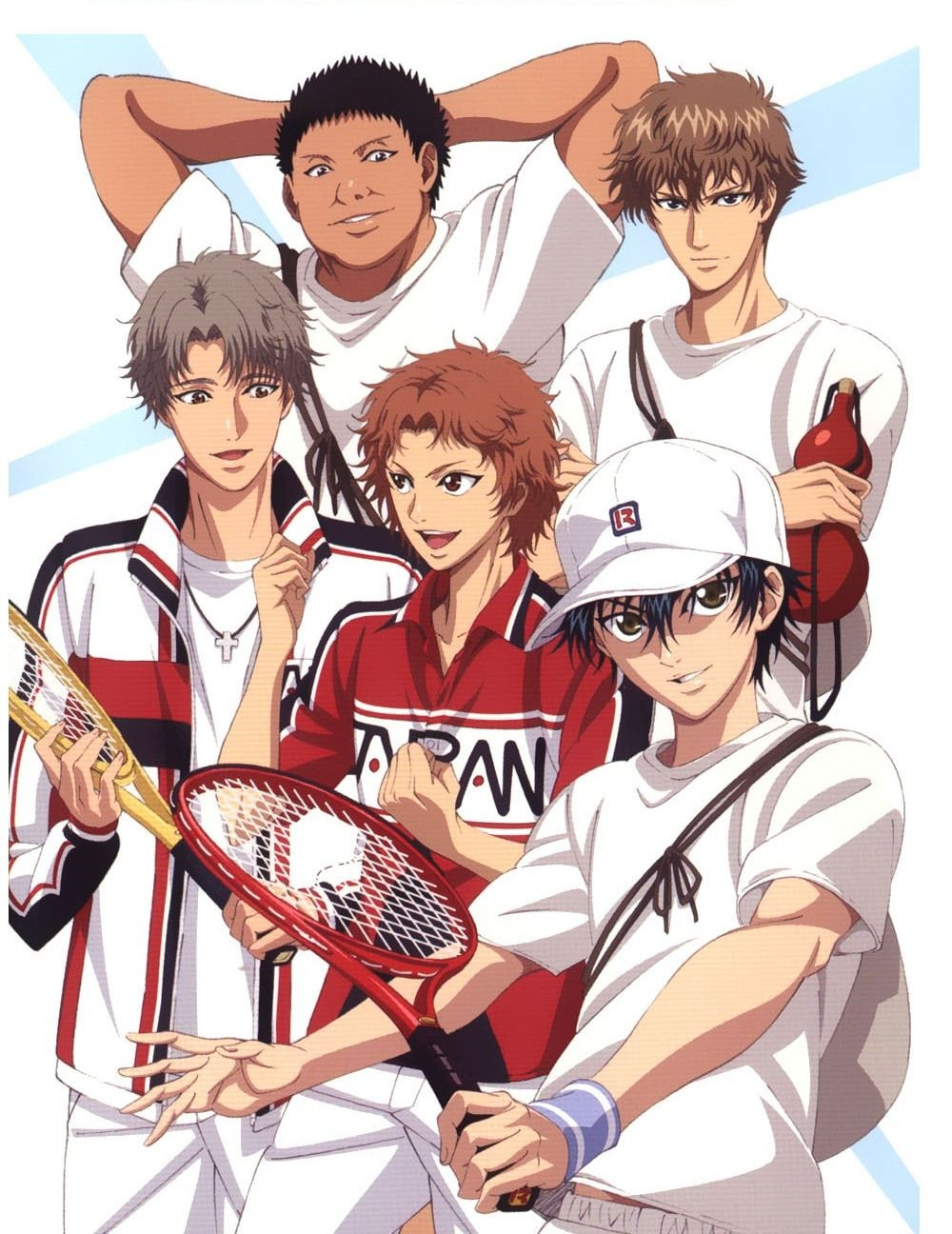 Tags Tennis No Ouji Sama Akutagawa Jiro Echizen Ryoma Ootori Choutarou Oshitari Kenya Official A Prince Of Tennis Anime Anime Prince The Prince Of Tennis