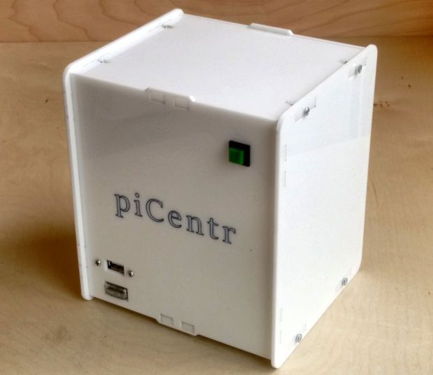 Building a picentr home media center raspberry arduino and tech picentr is an open source enclosure designed specifically for people who wish to build a media center pc using the raspberry the layout of the enclosure is solutioingenieria Image collections