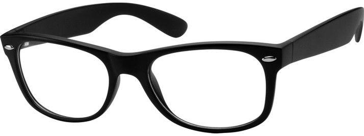 de4ca693619 Black Retro Square Eyeglasses  270421