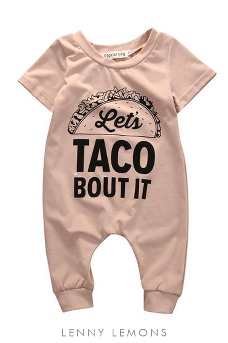 9e224c8dc Let s taco bout it! Fun statement jumpsuit. Trendy harem style ...